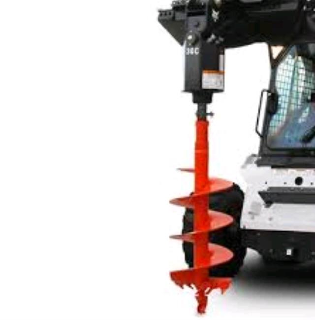 Auger Attachment Bobcat Rentals Norco Ca Where To Rent