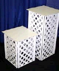 Where to rent PEDESTAL, 30  LATTICE, EA. in Norco CA