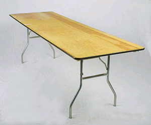 Where to find TABLE, 8  BANQUET  8  X 30 in Norco