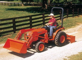 Where to find TRACTOR, KUBOTA - 4 X 4 in Norco